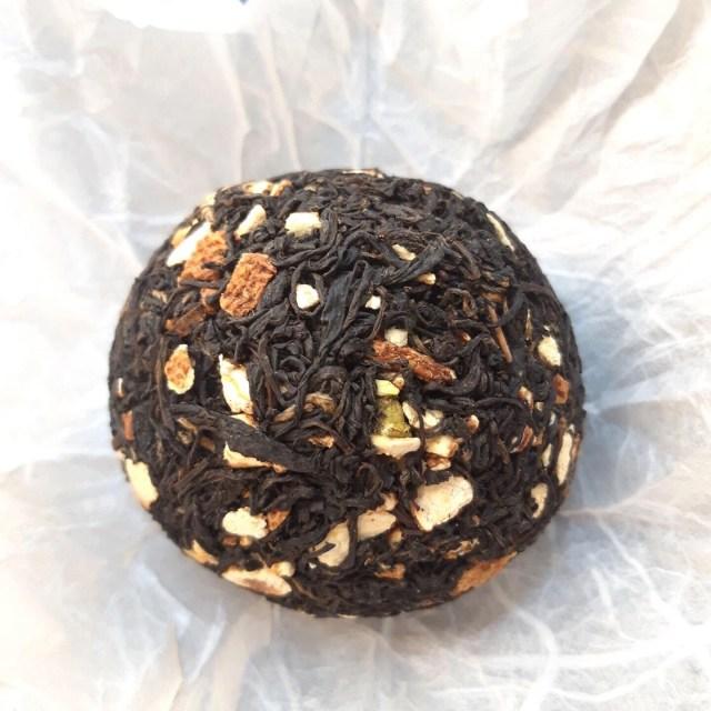 Wild Citrus Hongcha [Thé noir de Corée du Sud]: Galette de 100g
