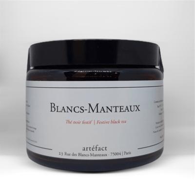 Blancs Manteaux [Thé noir festif] : Amber Jar 100g