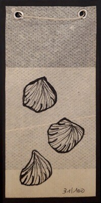 Tea Bag Drawing #31 | Rita Alaoui