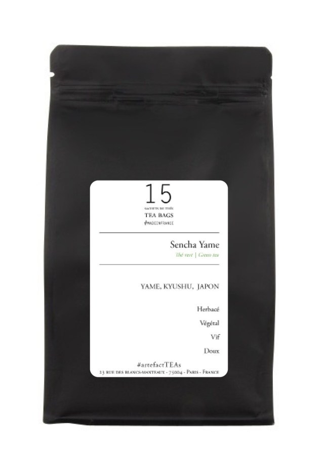 Sencha Yame [Thé vert du Japon] Sachets de Thé | Tea Bags