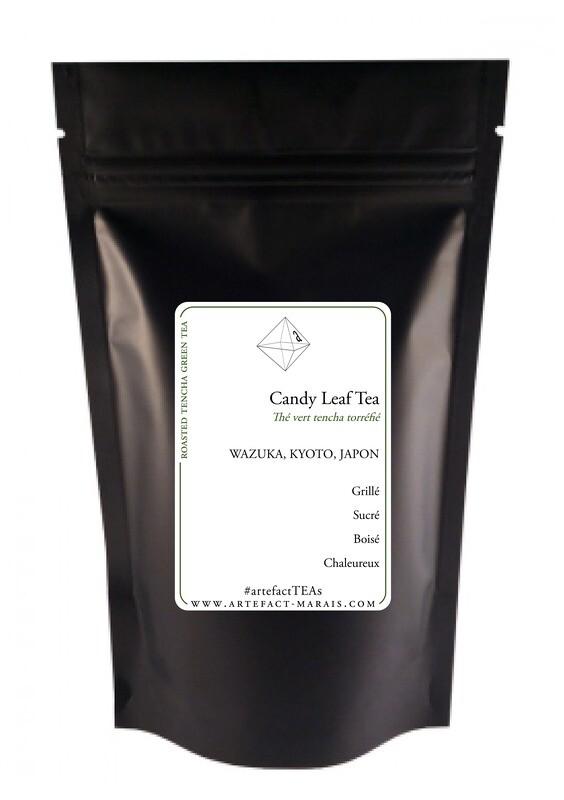 Candy Leaf Tea [Tencha torréfié] : paquet de 25g