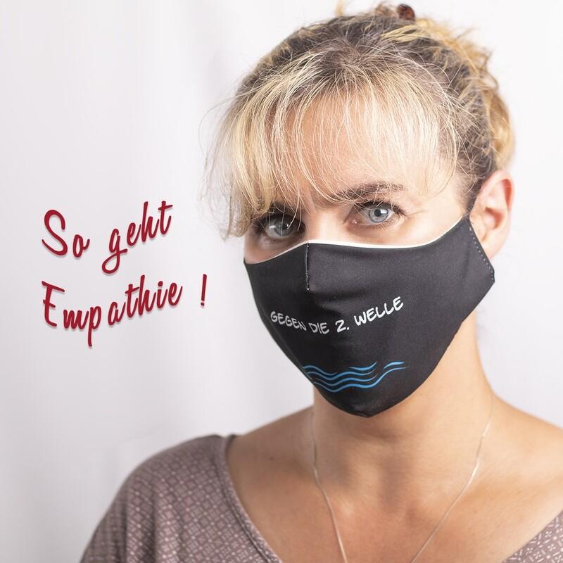 Stilvoller Mund-Nasen-Schutz