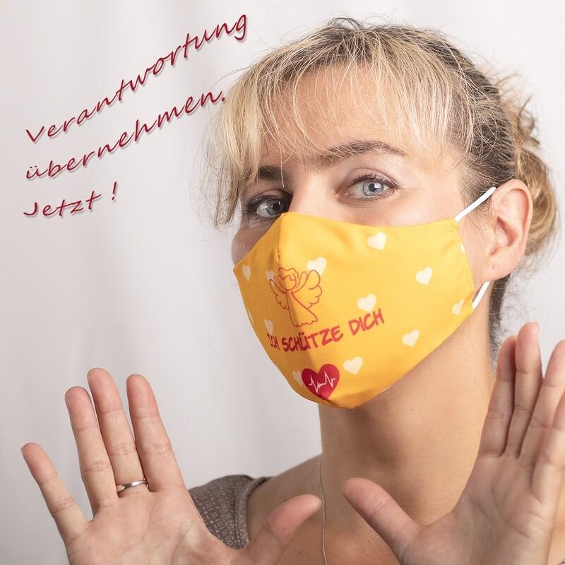 Bezaubernder Mund-Nasen-Schutz SCHUTZENGEL