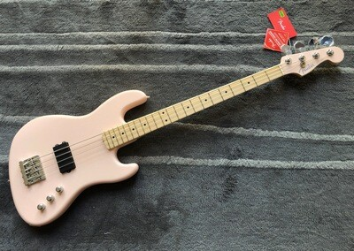 Fender USA Flea Jazz Bass Active Satin Shell Pink