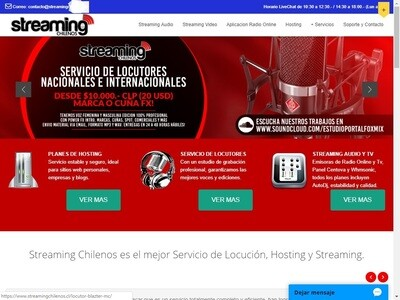 Sitio Web Para Radio Online Streaming