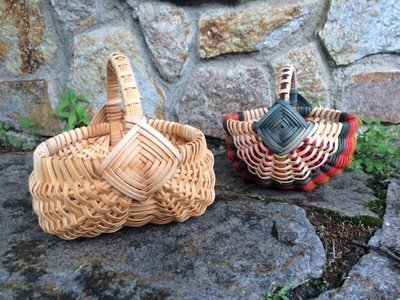 CLASS IS FULL: Little Ribbed Basket: Saturday June 5, 2021, 3:00 pm-7:00 pm.  Learn this classic basket style. These little darlings are charming as heck.