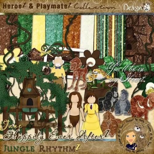 Happily Ever AfterZ: Jungle RhythmZ