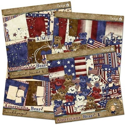 Americana BearZ: Bundle