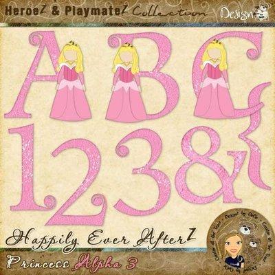Happily Ever AfterZ: Princess Alpha 3