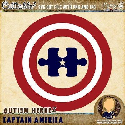 Captain America | Autism HeroeZ