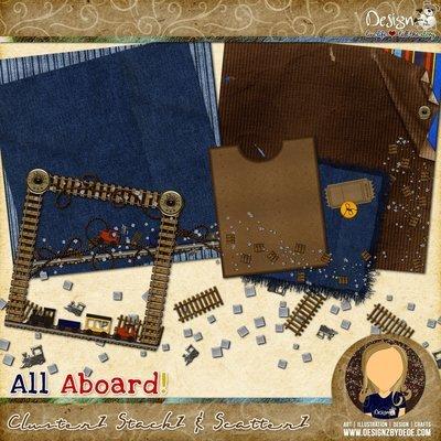 All Aboard!   ClusterZ StackZ & ScatterZ