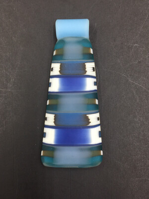 Zach Jorgensen Edge Pendant Blue/white