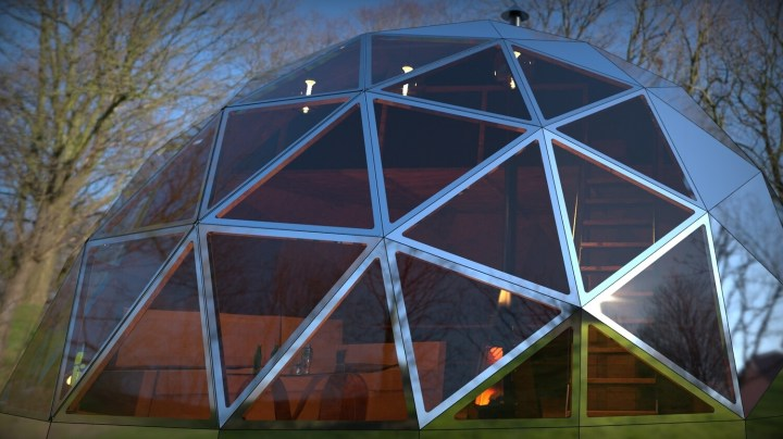 DIY 6 metre span GEODESIC DOME KIT SHELL ONLY
