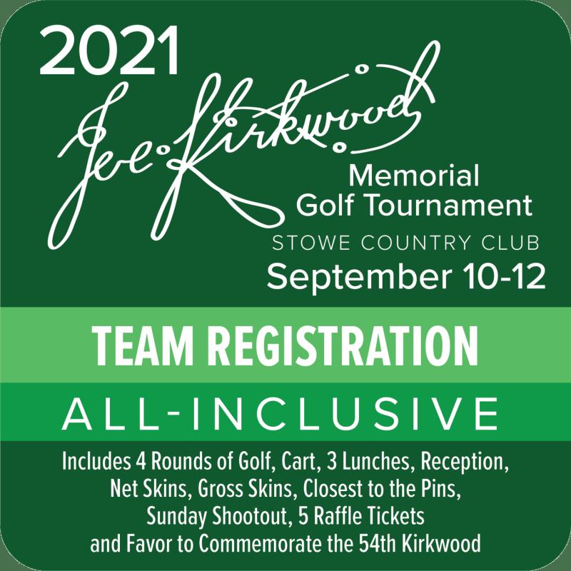2021 Kirkwood Team Registration