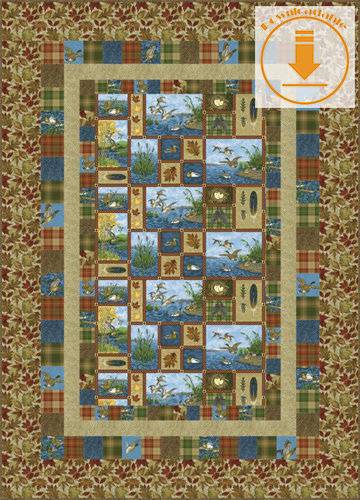 Peaceful Patchwork - PDF