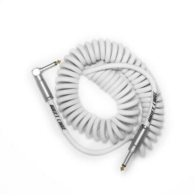 BULLET CABLE 15′ WHITE COIL CABLE