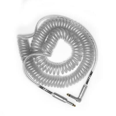 BULLET CABLE 30′ CLEAR COIL CABLE