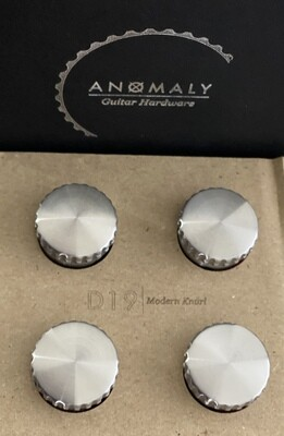 Anomaly D19 | Modern Knurl No Postion Marker Stainless Steel