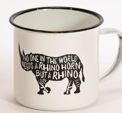 Rhino Vintage Camping Cup   -