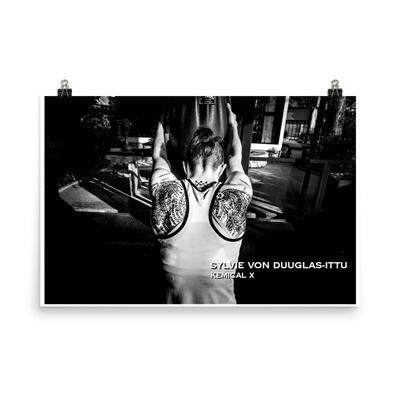 Sylvie Tigers on the Bag Poster