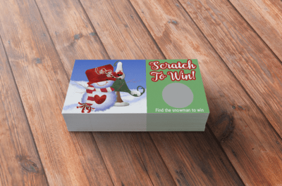 Holiday Scratch Off Cards-