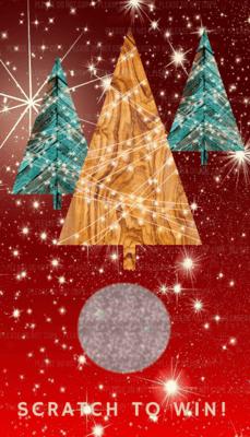 Christmas Appreciation Scratch off card