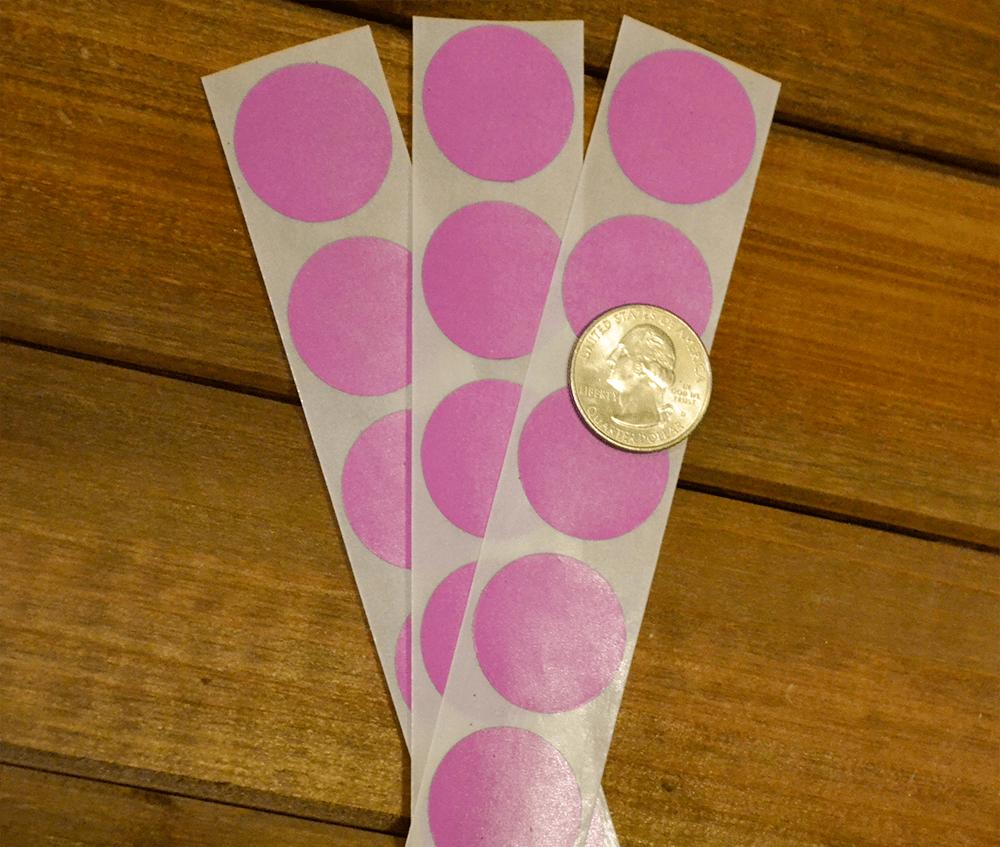 Sweet blossom pink-Valentine scratch off stickers
