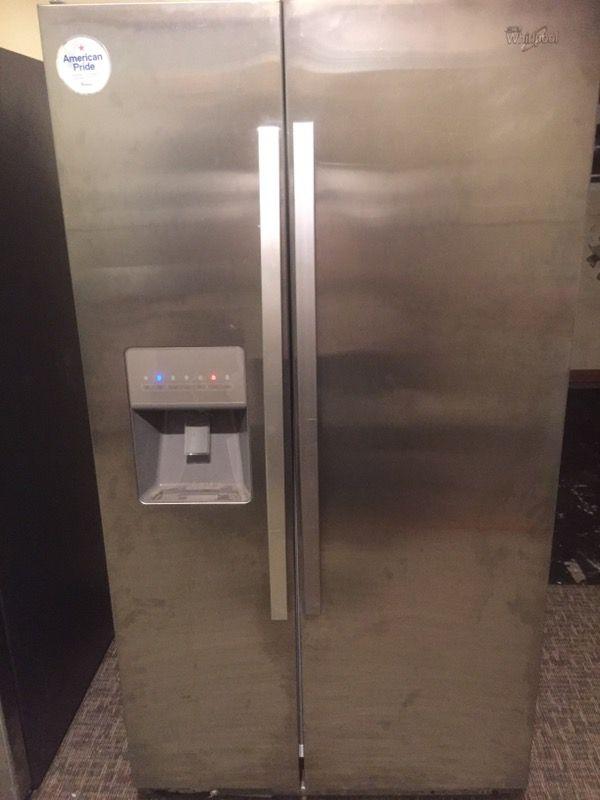 scratch dent kitchen appliances shelves for whirlpool refrigerator $600.00 model #wrs325fdam02 ...