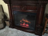 Twin star electric fireplace 33ef010gra (Furniture) in ...