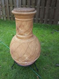 Clay Chiminea fire pit (Home & Garden) in Bedford Park, IL ...