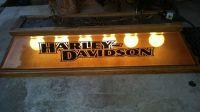 Retro Harley Davidson Pool Table Light.Works great ...