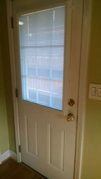 Exterior raised panel insulated door. (Home & Garden) in
