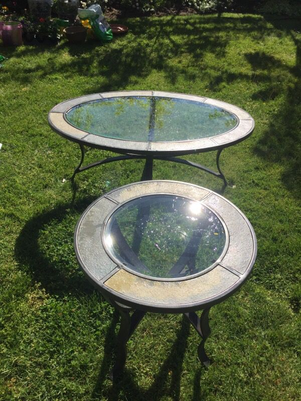 Mor Furniture Glass Coffee And End Table Furniture In