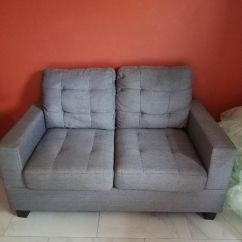 Blue Fl Sofa Midcentury Modern Sofas Light 2 Pieces Set In Great Condition Furniture Orlando Offerup