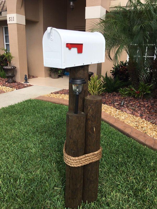 tropical outdoor nautical mailbox
