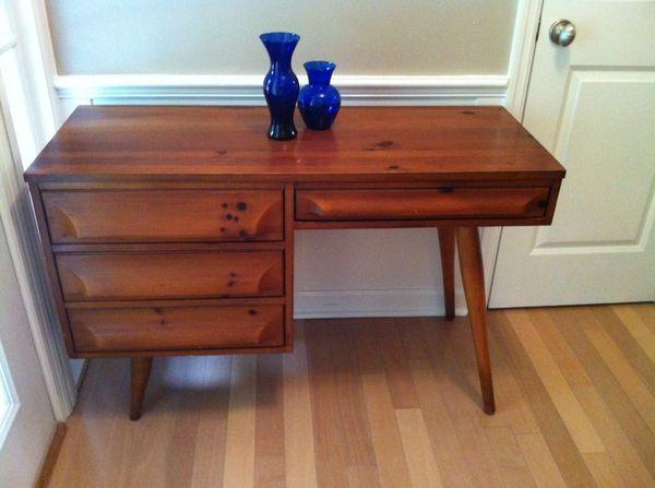 Mid Century Franklin Shockey Desk Furniture In