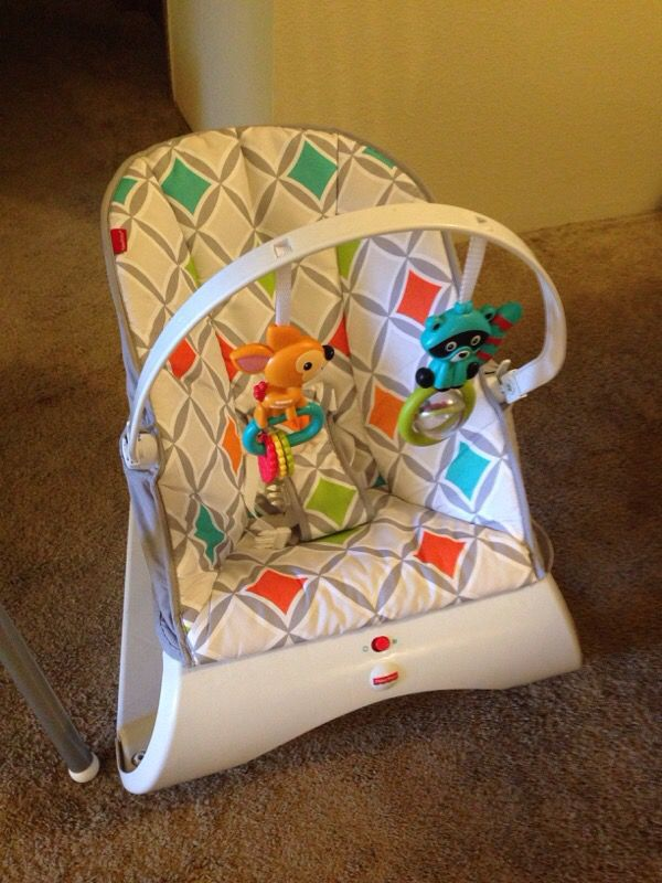 IKEA high chair and Fisher Price Bouncy Chair (Baby & Kids ...