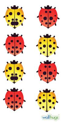 Ladybugs - Wall Decal | DesignYourWall