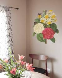 Bouquet - Vintage Wall Decal | DesignYourWall