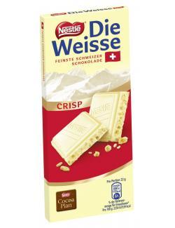 Nestl die Weisse Crisp Feinste Schweizer Schokolade 100