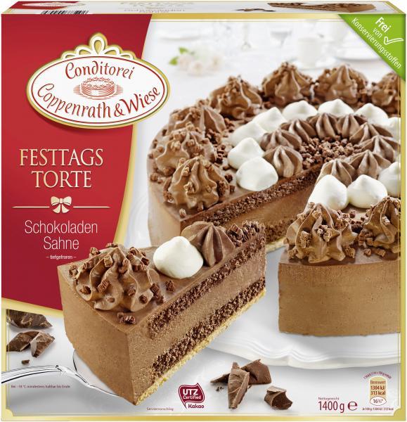 Coppenrath  Wiese Festtagstorte Schokoladen Sahne online
