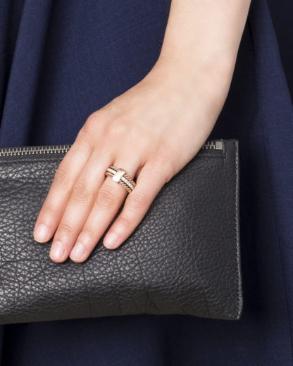 Tommy Hilfiger Ring Classic Signature SwarovskiKristalle