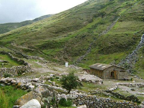 Pacha trek Hütte