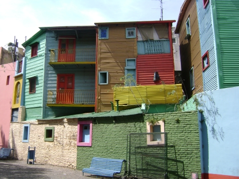 Sehenswürdigkeiten Südamerika - El Caminito