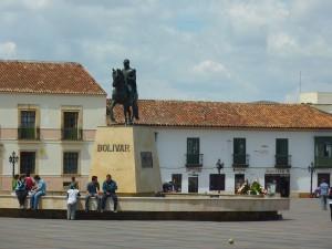 Tunja Plaza de Bolívar