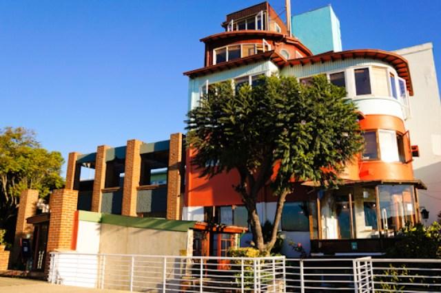 Pablo Neruda's House in Valparaiso, Chile
