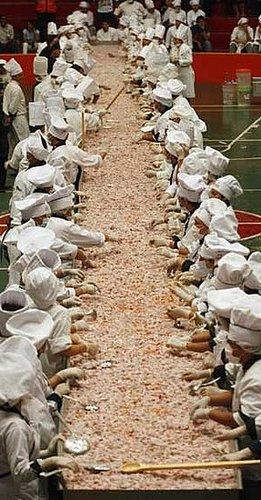 Le plus grand ceviche du monde, Perou