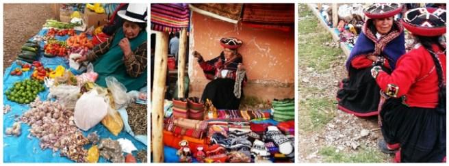 Market in Chinchero, Peru