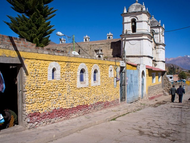 rue de Chivay, Pérou