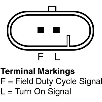 Delco Remy Alternator Terminal 2 Delco 24Si Alternator